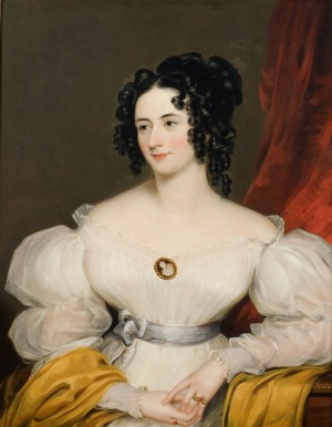 Portrait of a Lady thought to be Elizabeth Campbell