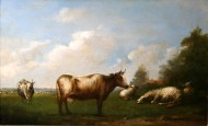 Cattle in a Flemish Landscape
